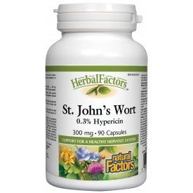 Natural Factors St. John's Wort 100mg 90 Caps