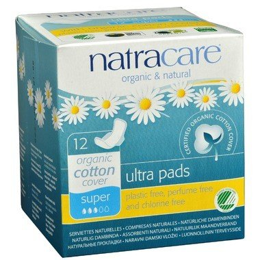 Organic Ultra Super Pads w/ Wings 12
