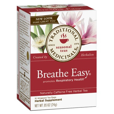 Traditional Medicinal Breathe Easy Tea 20 Bags