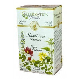 Celebration Herbals Hawthorn Berries Tea Organic 24 Bags