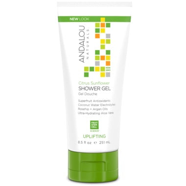 Andalou Naturals Shower Gel Citrus Verbena 251ml