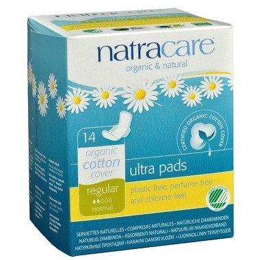 Organic Ultra Regular Pads w/ Wings 14