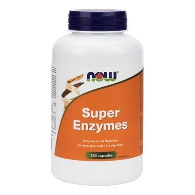Now Super Enzyme 180 Capsules