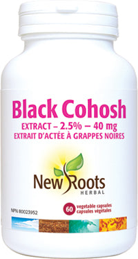 New Roots Black Cohosh 60 v Caps