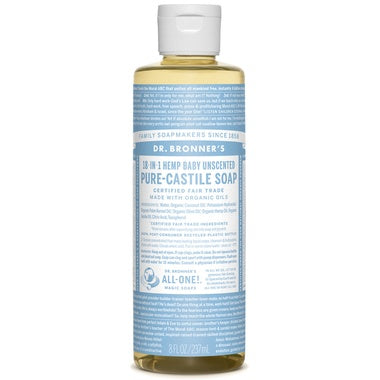 Pure Castile Liquid Soap Unscented 237ml