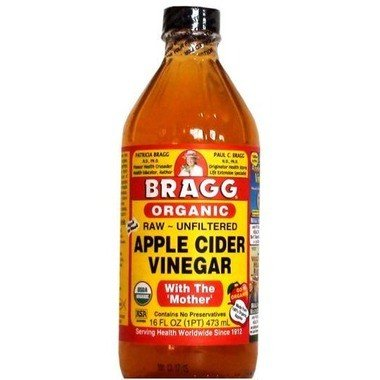 Bragg Organic Apple Cider Vinegar Glass 473ml