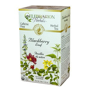 Celebration Herbals Blackberry Leaf Organic 24 Bags