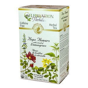 Celebration Herbals Hops Flowers Organic 24 Bags