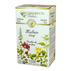 Celebration Herbals Mullein Leaf Organic 24 Bags