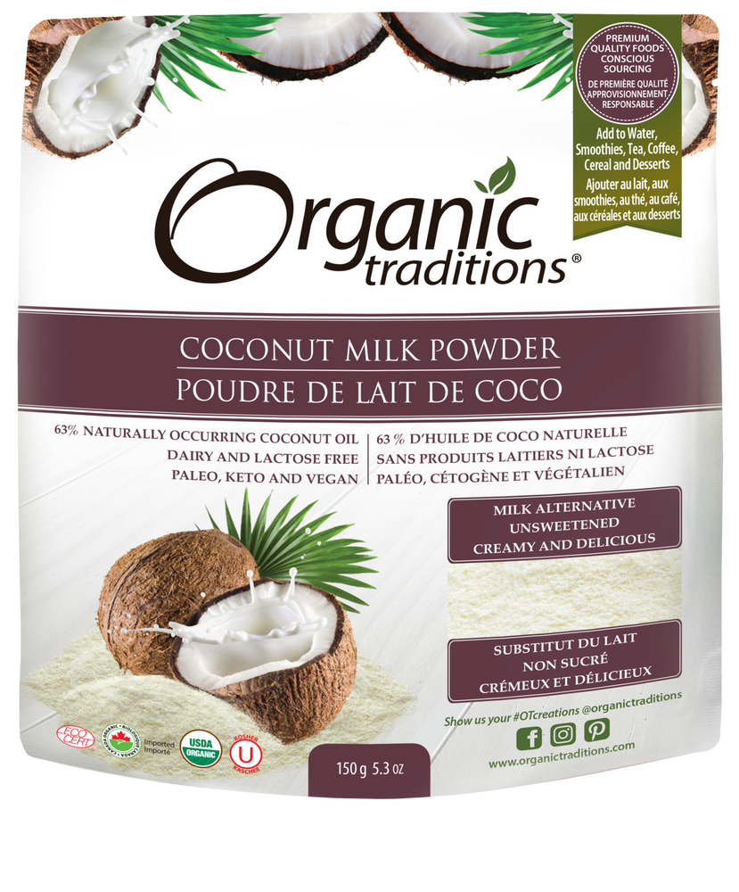 Organic Traditions Coconut Milk Powder 150g