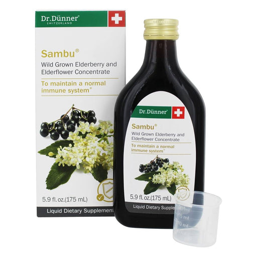 Dr. Dunner Sambu Wildgrown Elderberry & Elderflower Concentrate 175ml