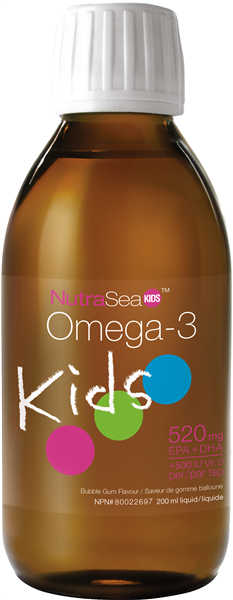 Nutrasea Omega-3 Kids Bubblegum 200ml