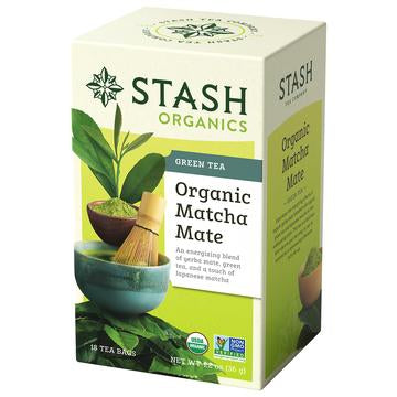 Stash Organic Matcha Mate Green Tea