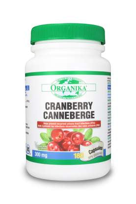 Organika Cranberry 300mg 180 caps