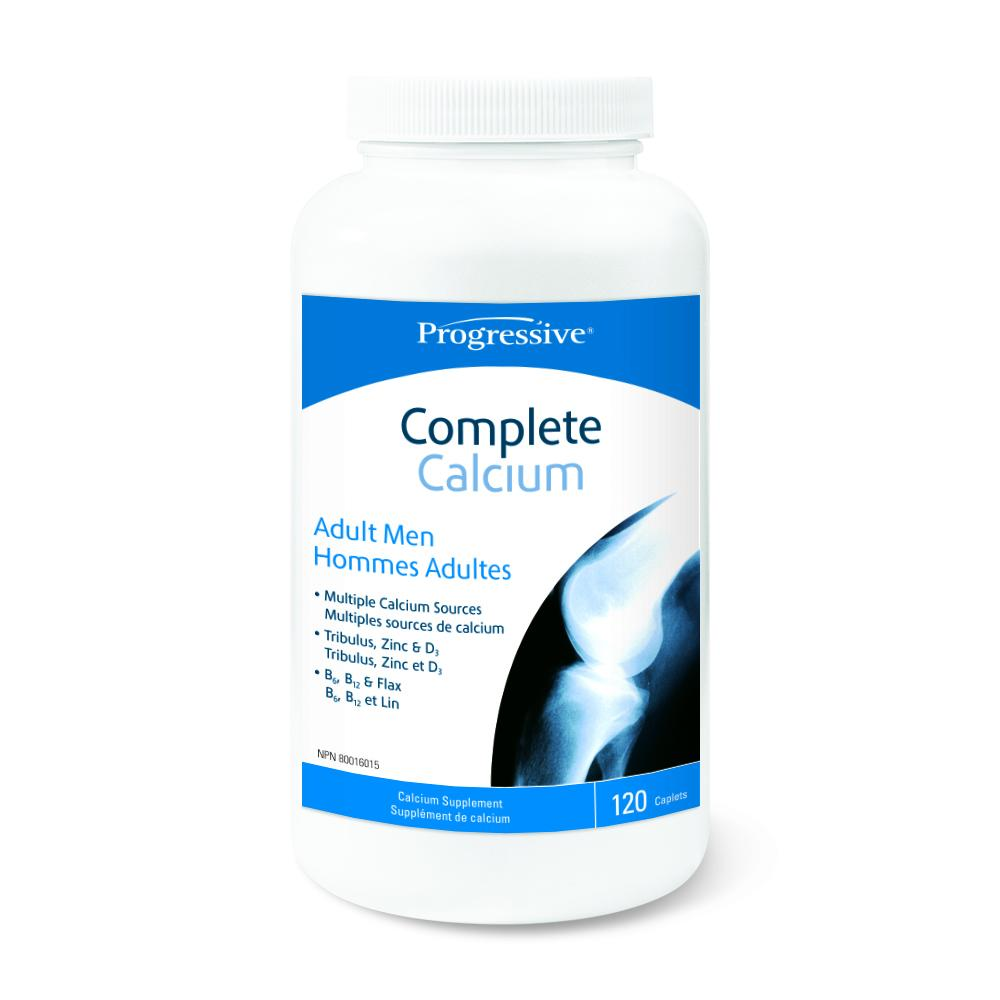 Progressive Complete Calcium Adult Men 120 caps