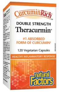 Natural Factors CurcuminRich™ Theracurmin® Double Strength 60mg 120VCapsules