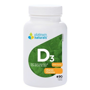 Platinum D3 MCT Oil