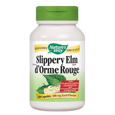 Slippery Elm 400mg 100 VCaps