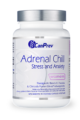 CanPrev Adrenal Chill Stress and Anxiety 90 vcaps