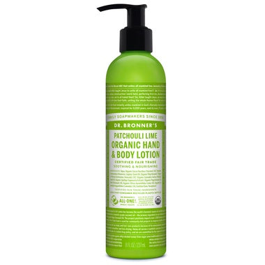 Dr Bronners Body Lotion Patchouli Lime 237ml