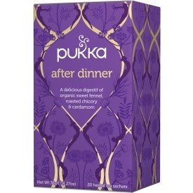Pukka After Dinner Tea 20 Bags