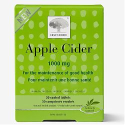 New Nordic Apple Cider 1000 mg 30 Tablets