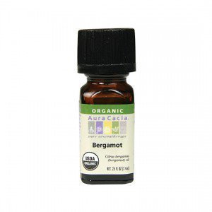 Aura Cacia Organic Bergamot Essential Oil 7.4ml