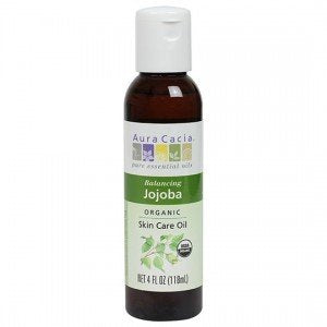 Aura Cacia Organic Jojoba Skin Care Oil 118ml
