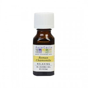 Aura Cacia Roman Chamomile (in jojoba oil) Essential Oil 15ml