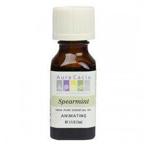 Aura Cacia Spearmint Essential Oil 15ml