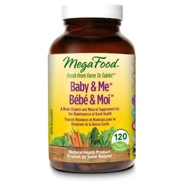 Baby & Me 120 Tablets