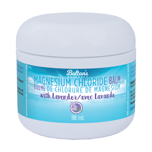Magnesium Chloride Balm with Lavender 118ml