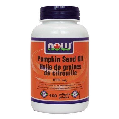 Pumpkin Oil 1000mg 100 Softgels