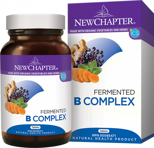 New cha[ter Fermented B Complex 30 Tablets