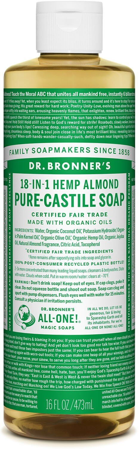 Pure Castile Liquid Soap Almond