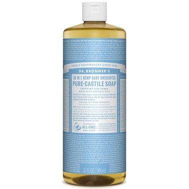 Pure Castile Liquid Soap Unscented 946ml