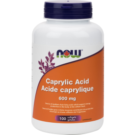 Caprylic Acid 600mg 100 caps