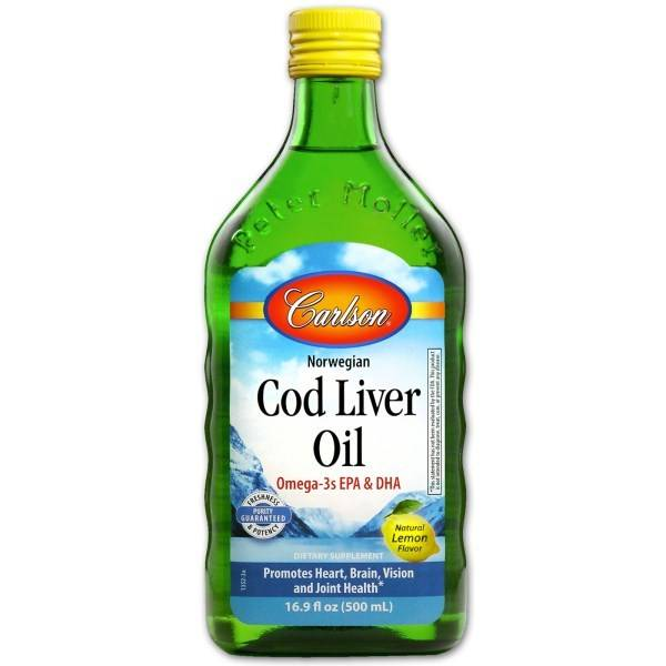 Cod Liver Oil Lemon 500ml