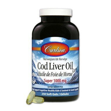 Super Cod Liver Oil 250 Softgels