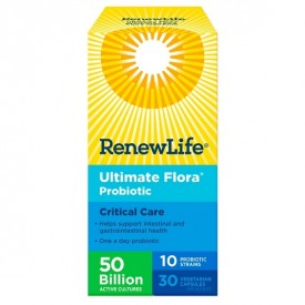 Renew Life Ultimate Flora Critical Care 50 Billion 30 VCaps