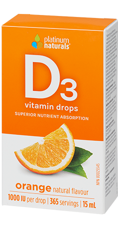 Platinum Vitamin D3 Orange 15 ml
