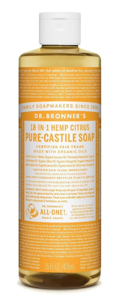 Dr Bronners Pure Castile Liquid Soap Citrus