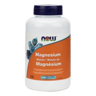 Magnesium Malate 1000mg 180 Tabs