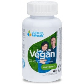 Platinum Easymulti Vegan 60 Softgels