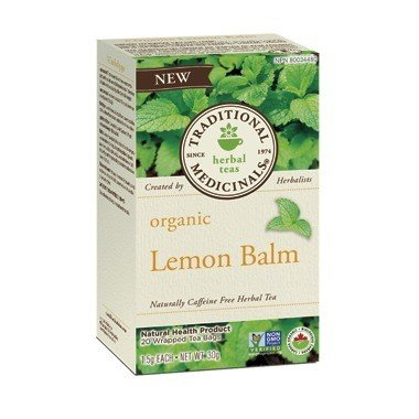 Organic Lemon Balm Tea 20 Bags