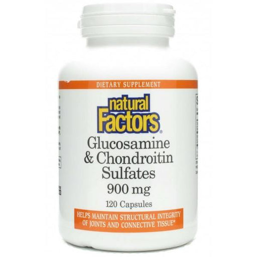 Natural Factors Glucosamine & Chondroitin Sulfate 900mg 120 Capsules