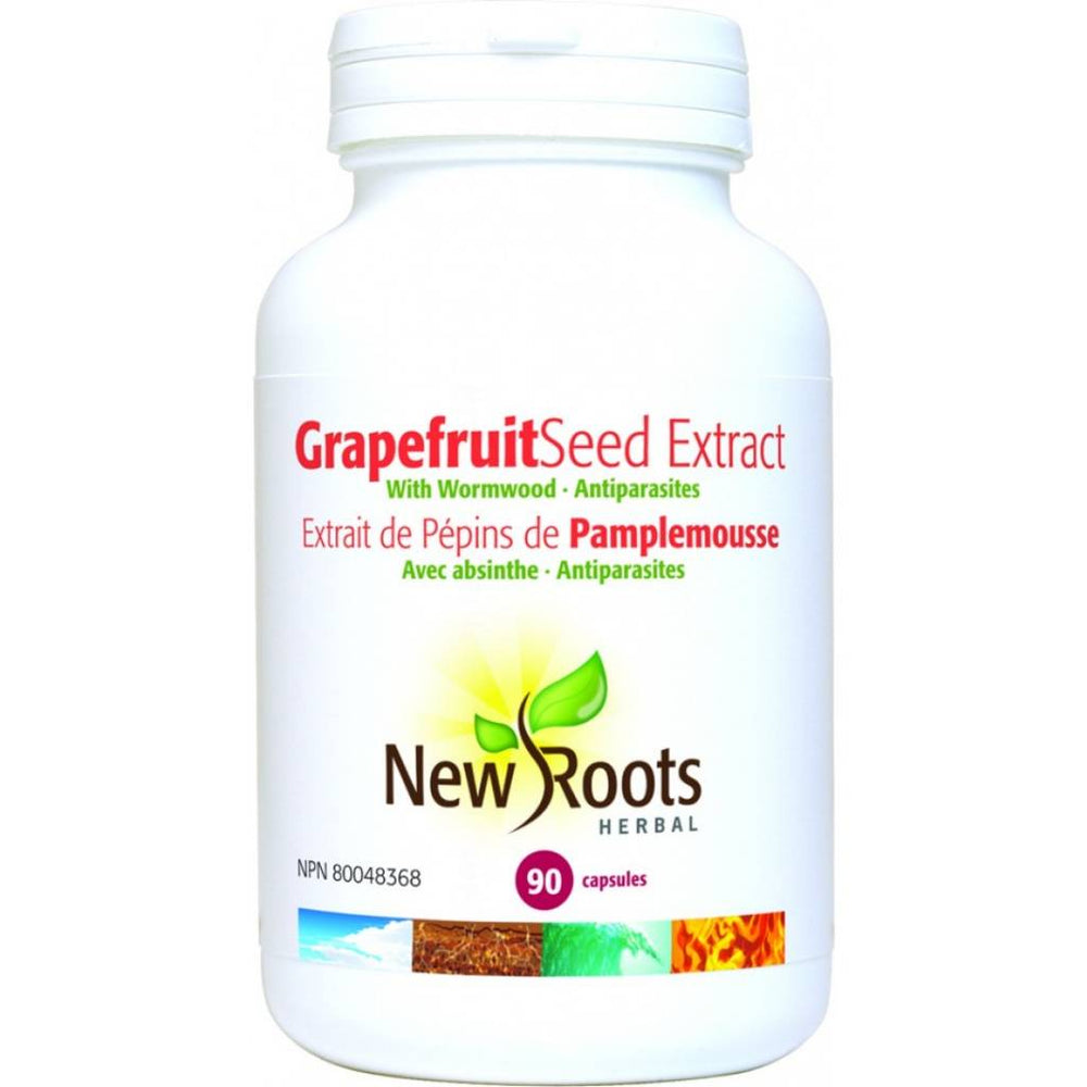 New Roots Grapefruit Seed Extract 406mg 90 Caps