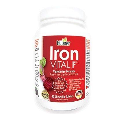 Hubner Iron Vital F 30 Chew Tablets