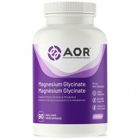AOR Magnesium Glycinate 90mg 90VCaps