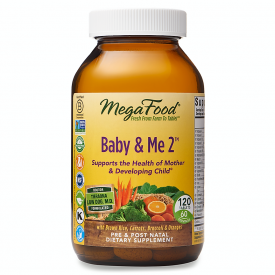 mega Food Baby & Me 2 120 Tablets